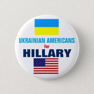 ヒラリー2016年のためのウクライナのアメリカ人 缶バッジ