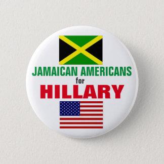 ヒラリー2016年のためのジャマイカのアメリカ人 缶バッジ