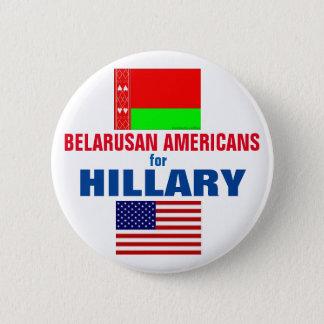 ヒラリー2016年のためのBelarusanのアメリカ人 5.7cm 丸型バッジ