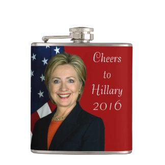 ヒラリー2016年への応援 フラスク