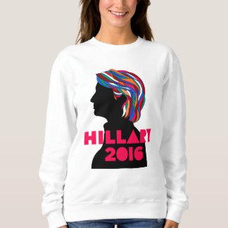 ヒラリー2016年: レトロのデザインの女性のスエットシャツ スウェットシャツ