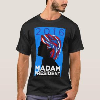ヒラリー2016年: 夫人大統領-人のTシャツ Tシャツ