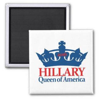 ヒラリー、アメリカの女王 マグネット