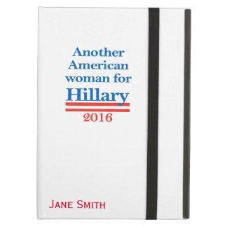 ヒラリー・クリントンのためのアメリカの女性 iPad AIRケース