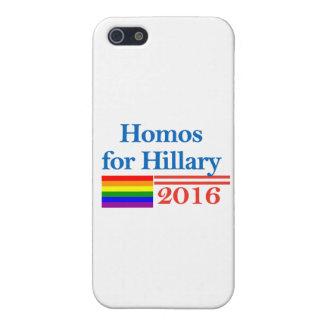 ヒラリー・クリントンのためのゲイ iPhone SE/5/5sケース