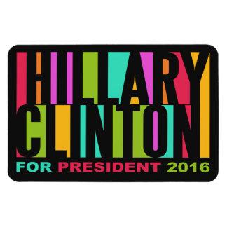 ヒラリー・クリントンのカラフルな2016年の磁石 マグネット