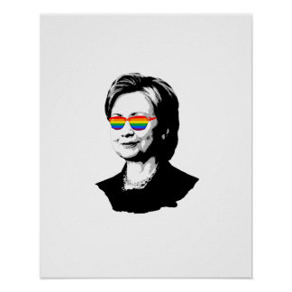 ヒラリー・クリントンのプライド ポスター