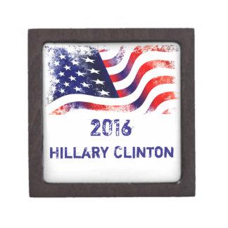 ヒラリー・クリントンの優れた装身具箱 ギフトボックス