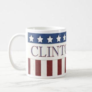 ヒラリー・クリントンの大統領2016星条旗 コーヒーマグカップ
