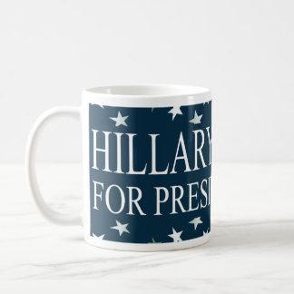 ヒラリー・クリントンの大統領「16米国の旗 コーヒーマグカップ