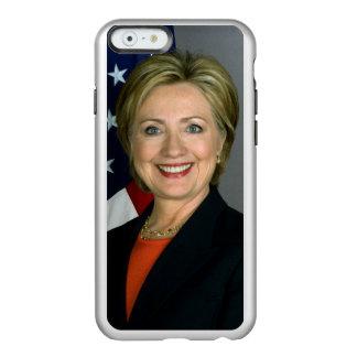 ヒラリー・クリントンの役人のポートレート INCIPIO FEATHER SHINE iPhone 6ケース