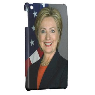 ヒラリー・クリントンの役人のポートレート iPad MINIカバー