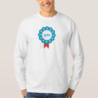 ヒラリー・クリントンの男性Hanesの長袖のTシャツ Tシャツ