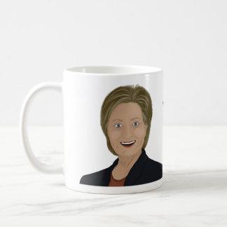 ヒラリー・クリントンの討論はマグ合わなく、 コーヒーマグカップ