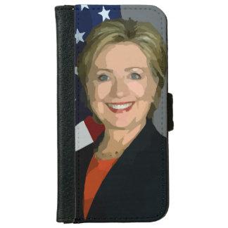 ヒラリー・クリントンの選挙の2016年のiPhone 6のウォレットケース iPhone 6/6s ウォレットケース