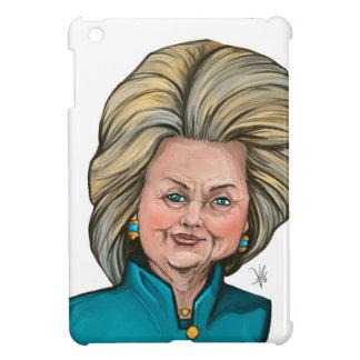 ヒラリー・クリントンの風刺漫画 iPad MINI CASE