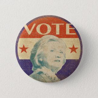 ヒラリー・クリントンの2016年の選挙ボタン 5.7CM 丸型バッジ