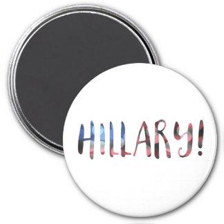 ヒラリー・クリントンの《写真》ぼけ味 マグネット