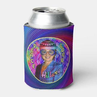 ヒラリー・クリントンのHippie Political 2016年の大統領 缶クーラー