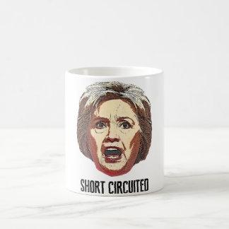 ヒラリー・クリントンはショートしました コーヒーマグカップ