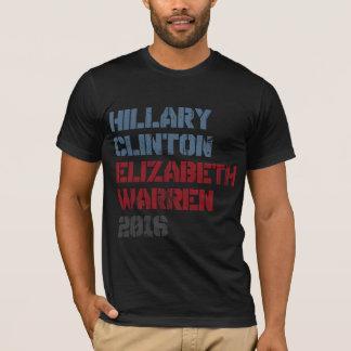 ヒラリー・クリントンエリザベスワーレン2016年 Tシャツ
