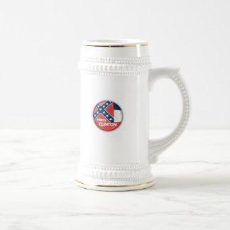 ヒラリー・クリントンミシシッピーのマグ ビールジョッキ