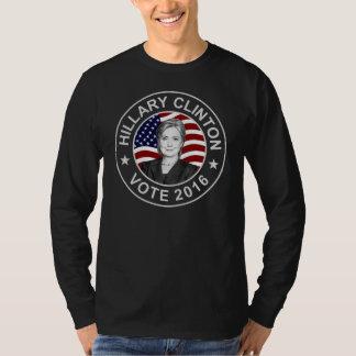 ヒラリー・クリントン米国の旗 Tシャツ