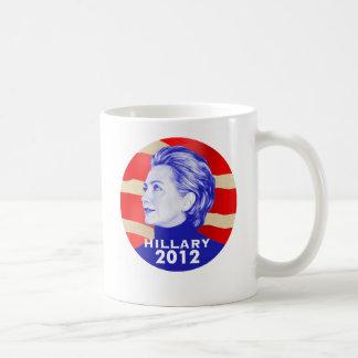 ヒラリー・クリントン2012のマグ コーヒーマグカップ