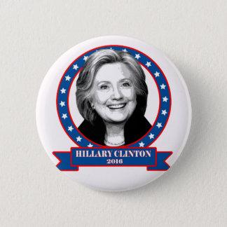 ヒラリー・クリントン2016のキャンペーンボタン 5.7CM 丸型バッジ