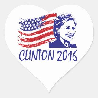 ヒラリー・クリントン2016のサポート項目 ハートシール