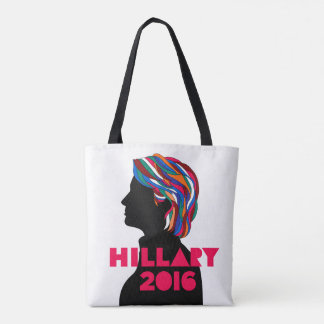 ヒラリー・クリントン2016の再使用可能なトートバック トートバッグ