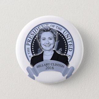 ヒラリー・クリントン2016ボタン 缶バッジ
