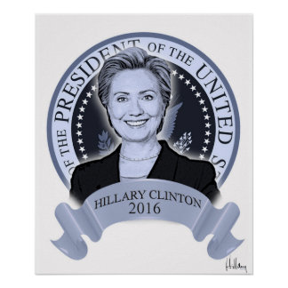 ヒラリー・クリントン2016年のポスター ポスター