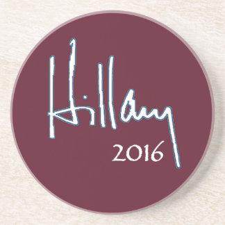 ヒラリー・クリントン2016年 コースター