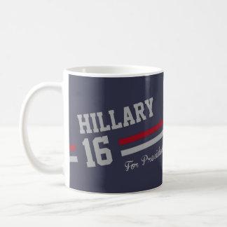 ヒラリー・クリントン2016年 コーヒーマグカップ