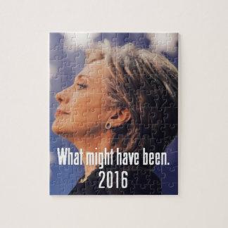 ヒラリー・クリントン2016年 ジグソーパズル