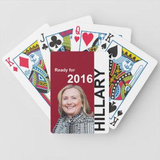 ヒラリー・クリントン2016年 バイスクルトランプ