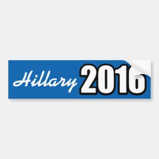ヒラリー・クリントン2016年 バンパーステッカー