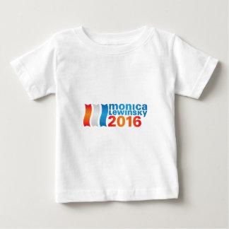 ヒラリー・クリントン2016年 ベビーTシャツ