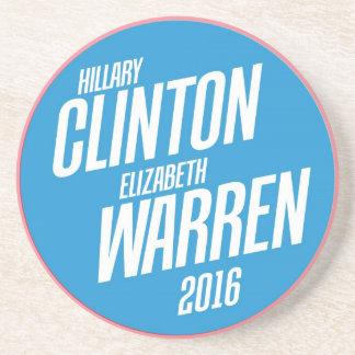 ヒラリー・クリントン/エリザベスワーレンの石造りのコースター コースター