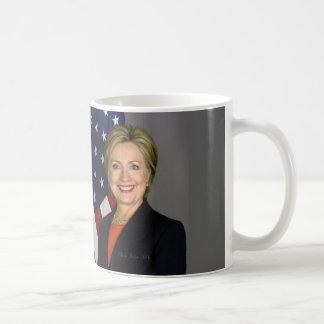 ヒラリー・クリントン コーヒーマグカップ