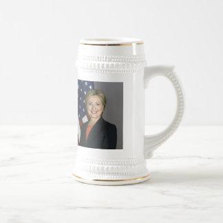 ヒラリー・クリントン ビールジョッキ