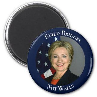 ヒラリー・クリントン-造りはない壁を繋ぎます マグネット