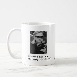 """ヒラリー・クリントン: """"非常に不注意"""" コーヒーマグカップ"""