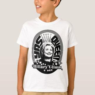 ヒラリー・クリントンYasの女王 Tシャツ
