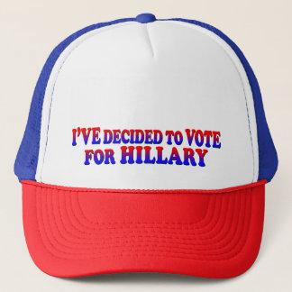 ヒラリー-トラック運転手の帽子のために決定される キャップ