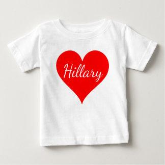 """""""ヒラリー"""" ベビーTシャツ"""