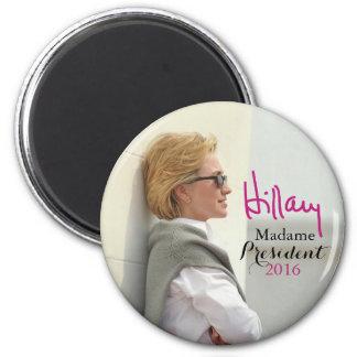 ヒラリー・ロッドハム・クリントンのサングラスの署名の磁石 マグネット