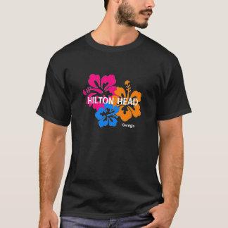 ヒルトンヘッドジョージアのハイビスカスのTシャツ Tシャツ