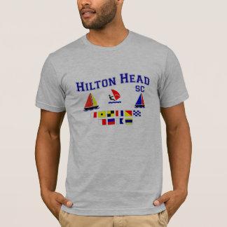 ヒルトンヘッドSCのシグナルフラグ Tシャツ
